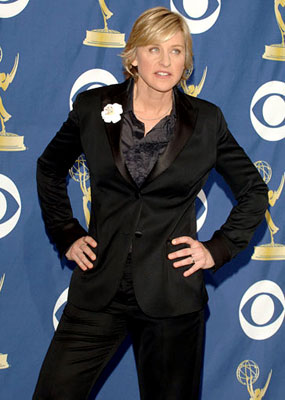 Host Ellen Degeneres 57th Annual Emmy Awards Press Room - 9/18/2005