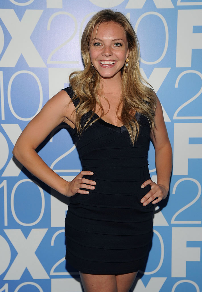 "Eloise Mumford (""Lonestar"") attends the 2010 Fox Upfront after party at Wollman Rink, Central Park on May 17, 2010 in New York City."