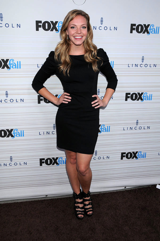 "Eloise Mumford of ""Lone Star"" arrives at the 2010 Fox Fall Eco-Casino party on September 13, 2010, at Boa in West Hollywood."