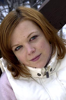 Emily Bergl of Happy Campers Sundance Film Festival 1/22/2001