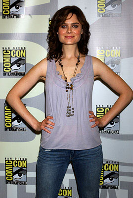 Emily Deschanel San Diego Comic-Con, 7/15/2005