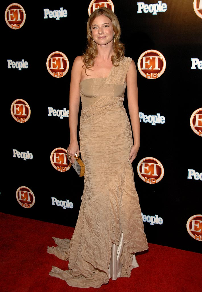 Emily VanCamp arrives at the Entertainment Tonight Emmy party held at the Walt Disney Concert Hall on Sunday September 21st, 2008 in Los Angeles, California.