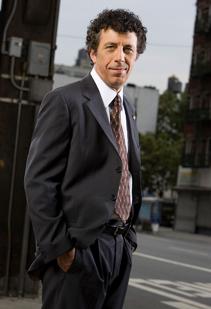 Eric Bogosian stars as Danny Ross in Law & Order: Criminal Intent on NBC.