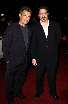 Premiere: Eric Braeden and son Christian Gudegast at the LA premiere of New Line's A Man Apart - 4/1/2003
