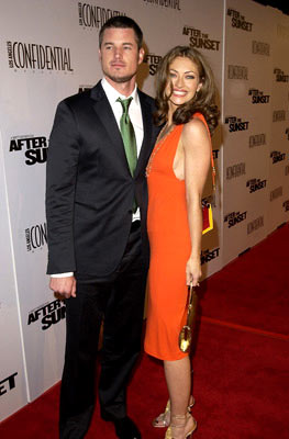 Premiere: Eric Dane and Rebecca Gayheart at the Hollywood premiere of New Line Cinema's After the Sunset - 11/4/2004