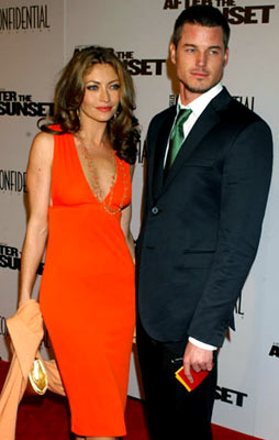 Premiere: Rebecca Gayheart and Eric Dane at the Hollywood premiere of New Line Cinema's After the Sunset - 11/4/2004