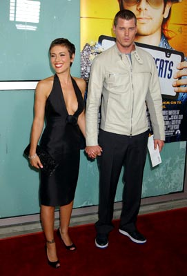 Premiere: Alyssa Milano and Eric Dane at the LA premiere of Paramount's Dickie Roberts: Former Child Star - 9/3/2003
