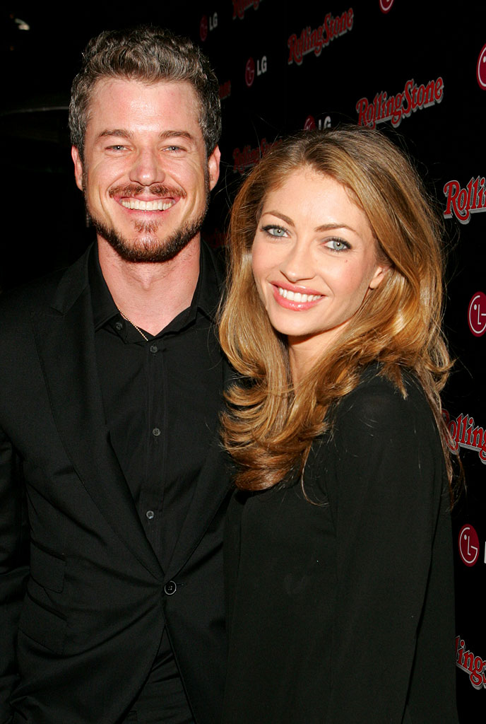 Eric Dane and Rebecca Gayheart at Rolling Stone Magazine's Celebration of their 2006 Annual Hot List.