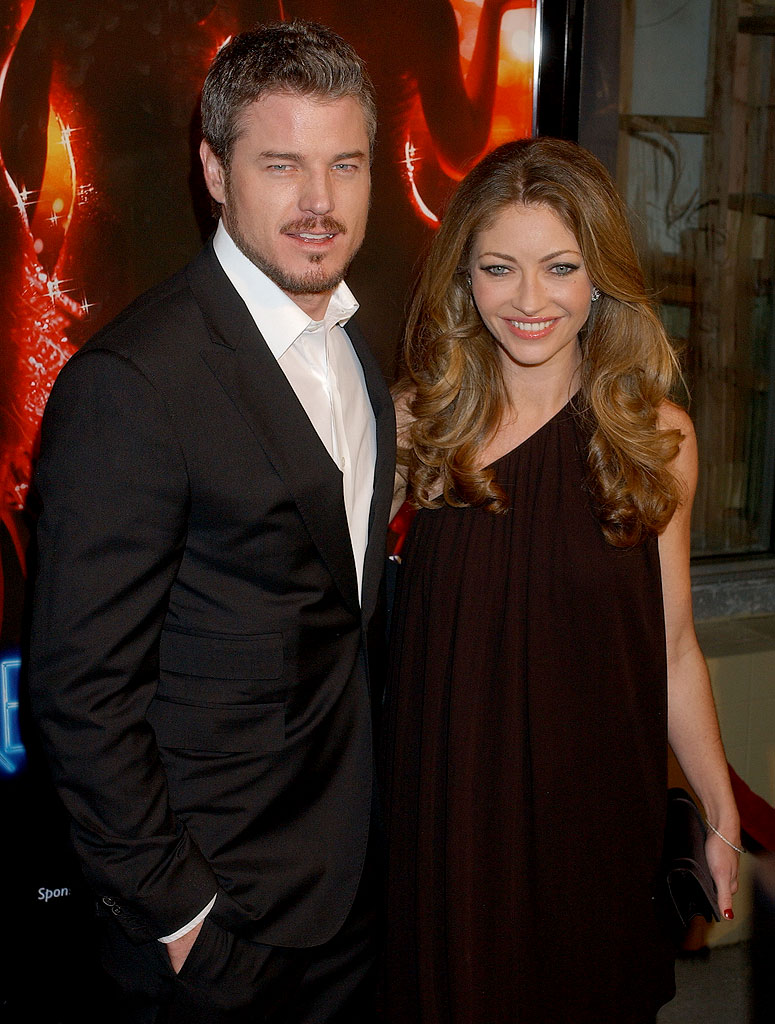 "Eric Dane and Rebecca Gayheart at the ""Dreamgirls"" Los Angeles Premiere."
