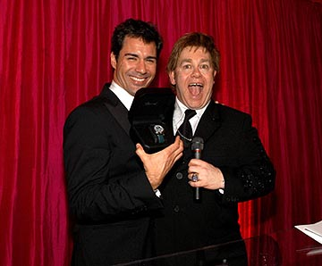 Eric McCormack, Elton John Elton John AIDS Foundation's Annual Viewing Party 75th Academy Awards - 3/23/2003