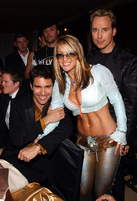 Eric McCormack, Anastacia and David Foster Elton John AIDS Foundtation In-Style Party Hollywood, CA 3/24/2002