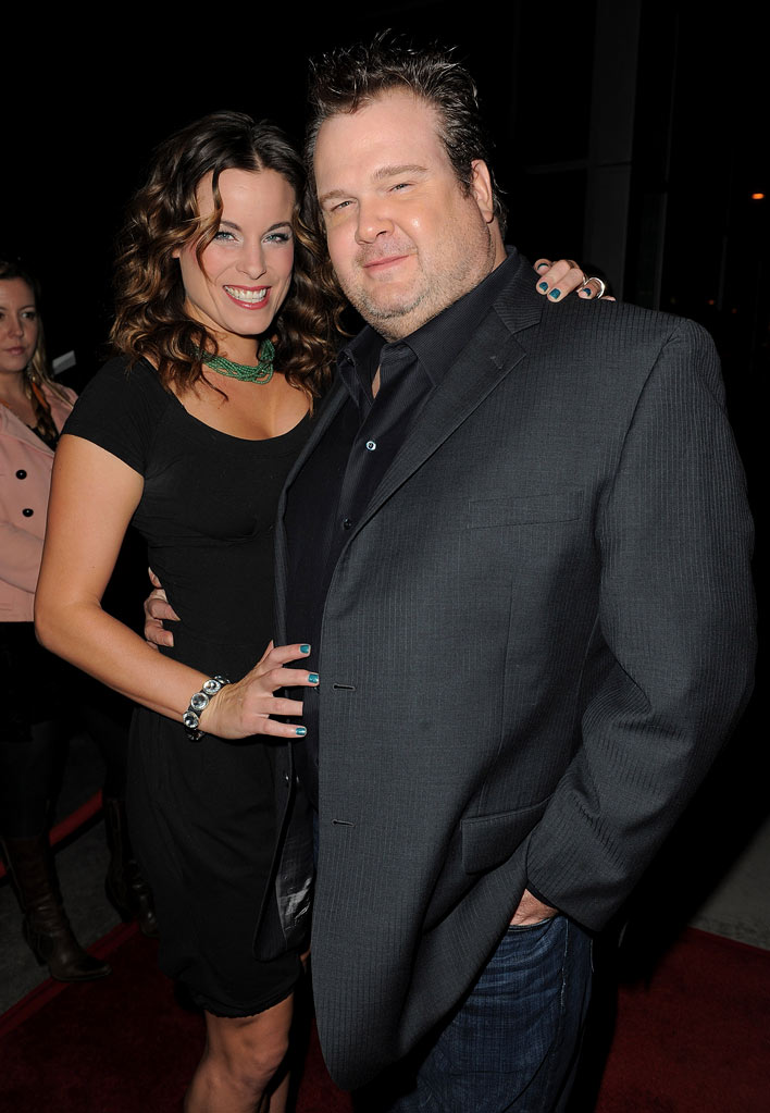 "Eric Stonestreet arrives at the premiere of FX's ""American Horror Story"" at the ArcLight Cinemas Cinerama Dome on October 3, 2011 in Hollywood, California."