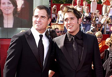 George Eads and Eric Szmanda 55th Annual Emmy Awards - 9/21/2003