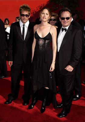 Eric Szmanda, Jorja Fox and Paul Guilfoyle Emmy Awards - 9/22/2002