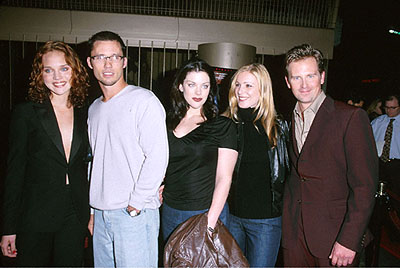 Premiere: The cast of Book of Shadows: Blair Witch 2 - Erica Leerhsen, Jeffrey Donovan, Kim Director, Tristen Skyler and Stephen Barker Turner -  at the Egyptian Theatre premiere of Artisan's Requiem For A Dream - 10/16/2000