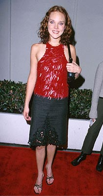 Premiere: Erica Leerhsen at the Beverly Hills premiere of Miramax's The Yards - 10/18/2000