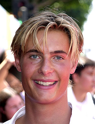 Premiere: Erik von Detten at the Hollywood premiere of Walt Disney's The Princess Diaries - 7/29/2001