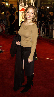 Premiere: Erika Christensen at the Westwood premiere of Warner Brothers' Ocean's Eleven - 12/5/2001