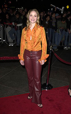Premiere: Erika Christensen at the Los Angeles premiere of Guy Ritchie's Snatch (1/18/2001)