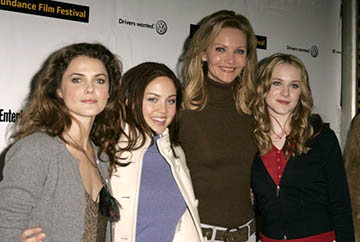 Keri Russell, Erika Christensen, Joan Allen and Evan Rachel Wood The Upside of Anger premiere Sundance Film Festival - 1/22/2005
