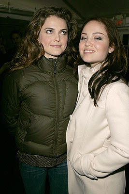 Keri Russell and Erika Christensen The Upside of Anger premiere Sundance Film Festival - 1/22/2005