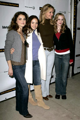 Keri Russell, Erika Christensen, Joan Allen and Evan Rachel Wood The Upside of Anger Premiere - 1/22/2005 Sundance Film Festival
