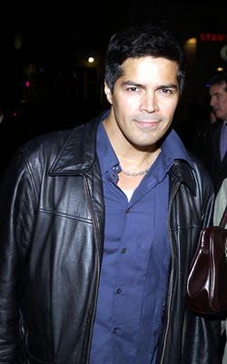 Premiere: Esai Morales at the LA premiere of Columbia's Tears of the Sun - 3/3/2003