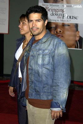 Premiere: Esai Morales at the LA premiere of Touchstone's Bringing Down the House - 3/2/2003