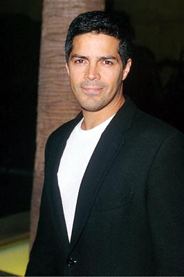 Premiere: Esai Morales at the Egyptian Theatre premiere of Fine Line's Saving Grace - 8/2/2000