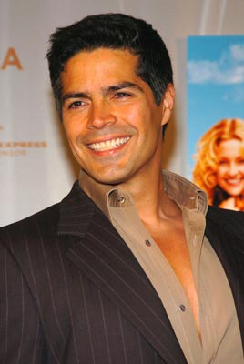 Esai Morales Tribeca Film Festival, May 1, 2004