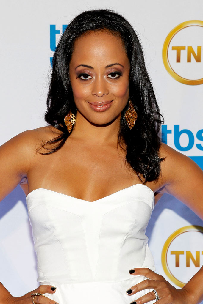 Essence Atkins attends the TEN Upfront presentation at Hammerstein Ballroom on May 19, 2010 in New York City.