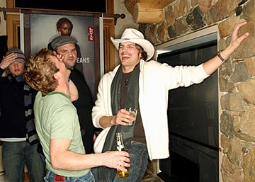 "William Lee Scott, Ethan Suplee and Ashton Kutcher ""The Butterfly Effect"" - 1/17/2004 Sundance Film Festival"