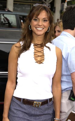 Premiere: Eva LaRue at the Hollywood premiere of Scooby Doo - 6/8/2002