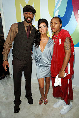 Common, Eva Longoria and Bow Wow MTV Video Music Awards Arrivals - 8/28/2005