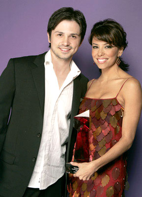 Freddy Rodriguez and Eva Longoria Hollywood Life's 4th Annual Breakthrough of the Year Awards - 12/12/2004