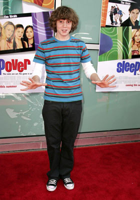 Premiere: Evan Peters at the Hollywood premiere of MGM's Sleepover - 6/27/2004