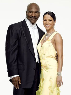 Evander Holyfield and Edyta SliwinskaABC's Dancing with the Stars