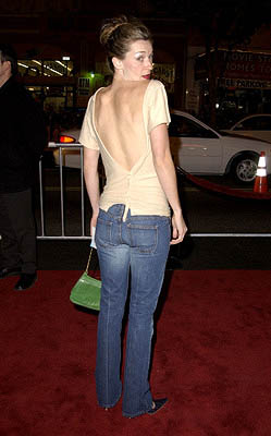 Premiere: Ever Carradine at the Hollywood premiere of A Walk To Remember - 1/23/2002