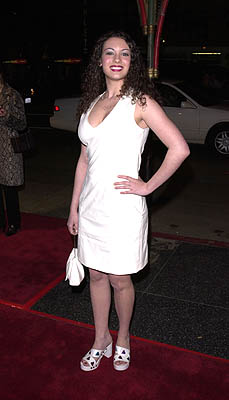 "Premiere: ""Days Of Our Lives"" star Farah Fath at the Hollywood premiere of Warner Brothers' Valentine - 2/1/2001"