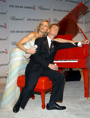 Felicity Huffman and William H. Macy 13th Annual Elton John AIDS Foundation Oscar Party West Hollywood, CA - 2/27/05