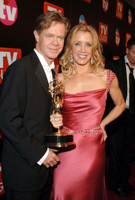William H. Macy and Felicity Huffman TV Guide & Inside TV After Party Emmy Awards - 9/18/2005
