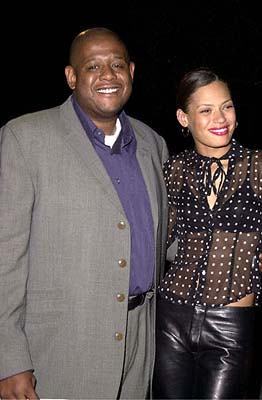 Premiere: Forest Whitaker and his wife Keisha at the Hollywood premiere of Paramount's Lucky Numbers - 10/24/2000
