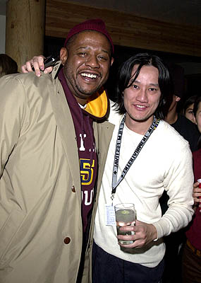 Forest Whitaker and Tony Bui Hugo House Sundance Film Festival 1/19/2001