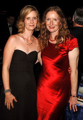 Cynthia Nixon and Frances Conroy Governor's Ball Emmy Awards - 9/18/2005