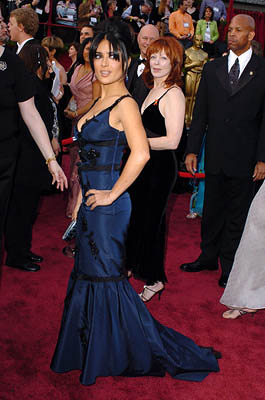 Salma Hayek and Frances Fisher 77th Annual Academy Awards - Arrivals Hollywood, CA - 2/27/05