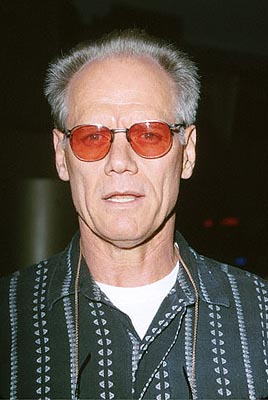 "Premiere: Fred Dryer, TV's ""Hunter,"" at the Egyptian Theater premiere of Artisan's The Way of the Gun - 8/29/2000"
