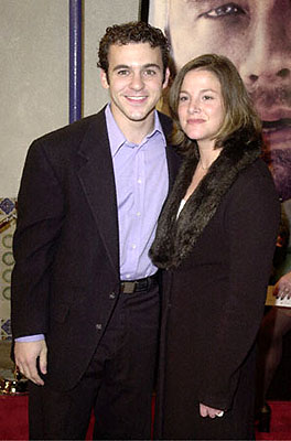 Premiere: Fred Savage and gal at the Westwood premiere of 20th Century Fox's Cast Away - 12/7/2000