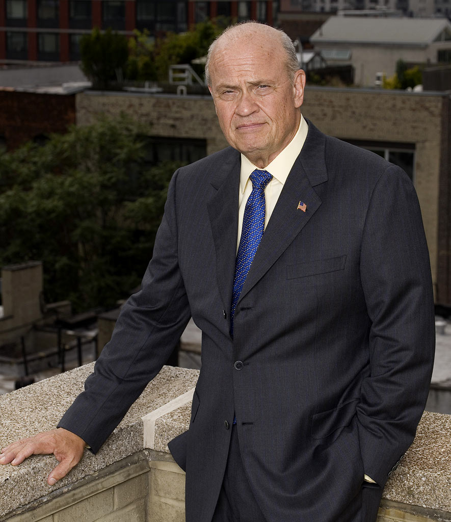 Fred Dalton Thompson stars as Arthur Branch in Law & Order on NBC.