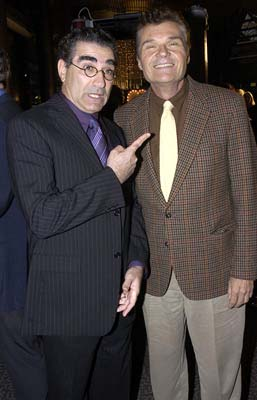 Premiere: Eugene Levy and Fred Willard at the Hollywood premiere of Warner Bros. A Mighty Wind - 4/14/2003