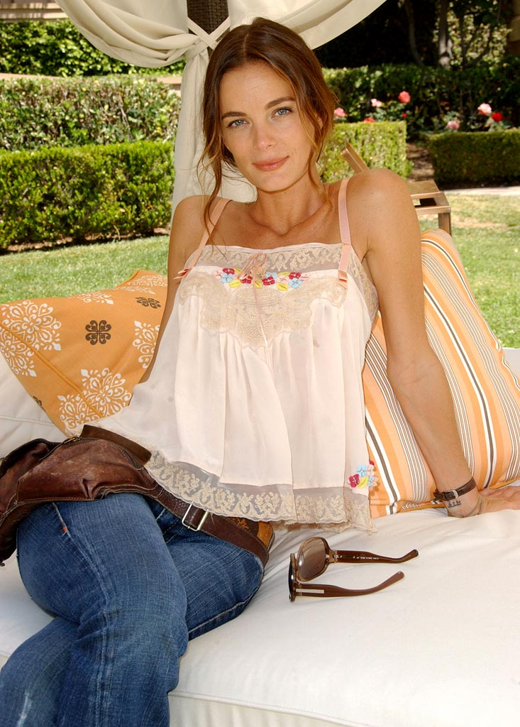 "Gabrielle Anwar at ""Burn Notice"" NBC's Summer Press Day 2007"